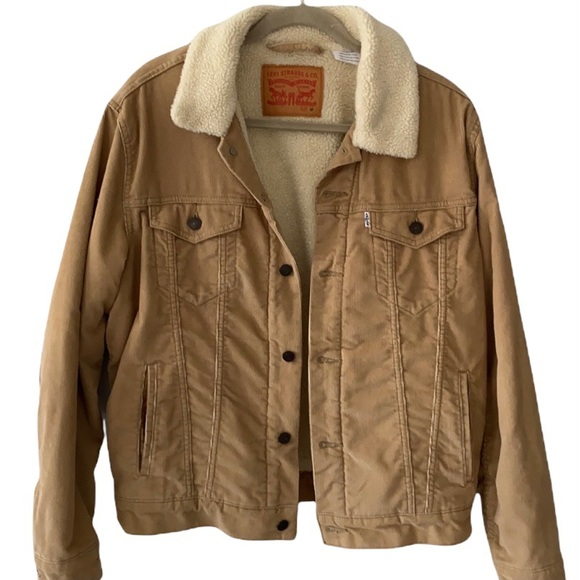 LEVI'S   Men's Sherpa Corduroy Jacket Size M